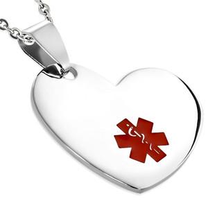 Srdíčko se zdravotním znakem