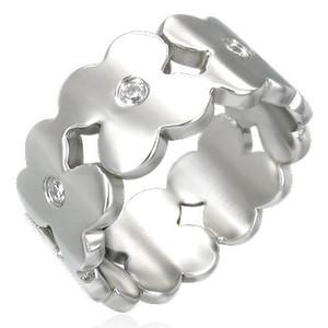 Ocelový prsten - XRB044BA