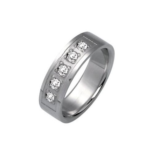 Ocelový prsten - RSSJ04
