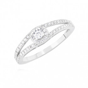 Prsteny - Rhodium - Čirá