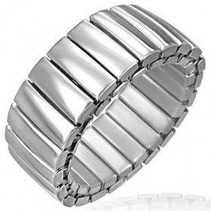 Ocelový prsten - RWS013BA