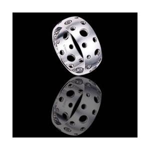 Ocelový prsten - RSSC30
