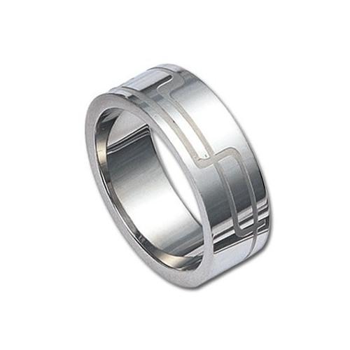Ocelový prsten Bludiště
