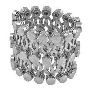 Ocelový prsten článkový